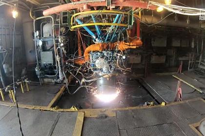 Украинские «Южмаш» и «Южное» показали испытания ракетного двигателя
