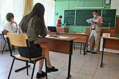 В Минпросвещения оценили состояние здоровья сдающих ЕГЭ школьников