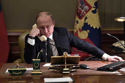Кремль отреагировал на данные о записи разговора Путина и Порошенко