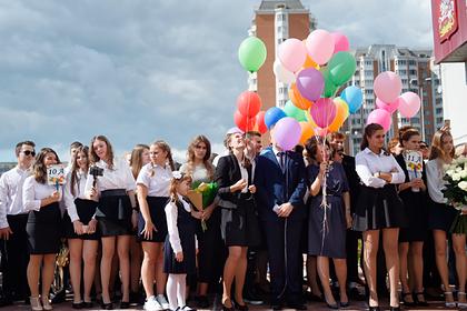 Российским школьникам вернули линейки 1 сентября