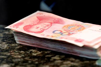 Курс юаня взлетел