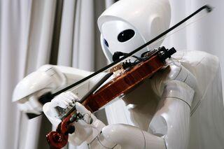 Робот-скрипач, созданный специалистами японской корпорации Toyota Motor