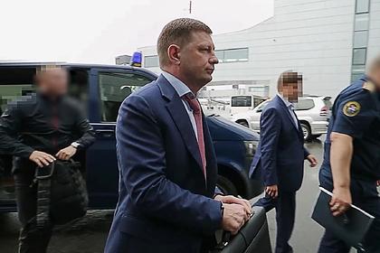 Губернатора Фургала обвинили в организации убийств