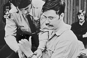 Серийный убийца Эдмунд Кемпер в зале суда