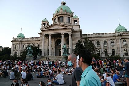 В России ответили на обвинения в беспорядках в Сербии