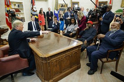 Трамп понадеялся на поддержку выдвинувшегося в президенты Уэста