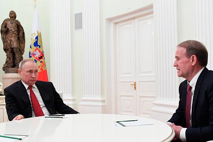 Зеленский заявил о финансировании Медведчука из России