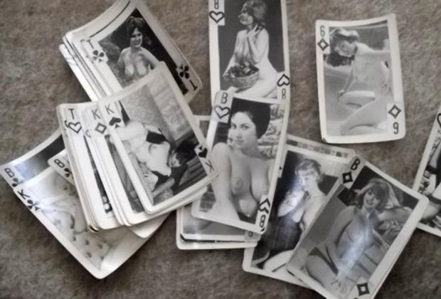 Самодельные эротические карты, популярные в СССР