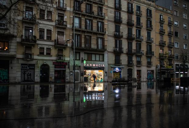 Барселона во время карантина