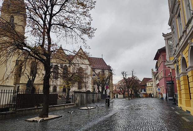 Сибиу, бывший Германштадт — колония саксонцев на территории Трансильвании