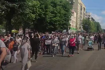 МВД заявило об организации командой Фургала массовых митингов