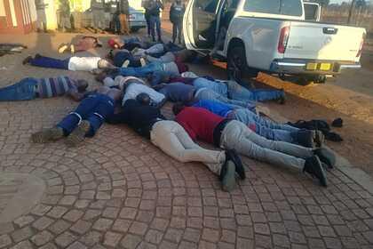 В ЮАР полиция помешала захвату заложников в церкви