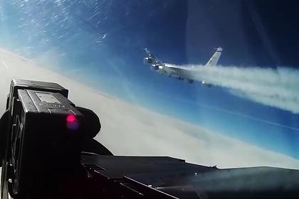 Опубликовано видео перехвата самолета-разведчика ВВС США над Японским морем