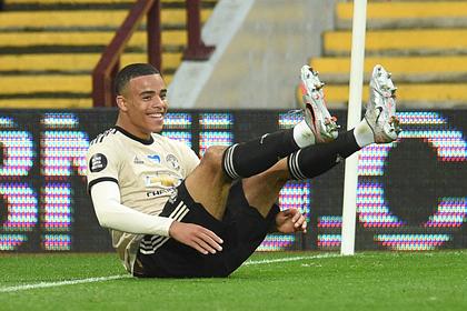 Гол футболиста «Манчестер Юнайтед» признан лучшим в туре АПЛ