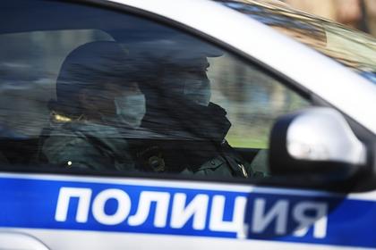 Ограбление банка в Петербурге попало на видео
