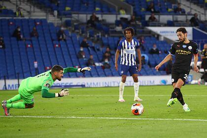«Манчестер Сити» разгромил аутсайдера АПЛ и гарантировал себе второе место