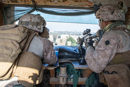 Боевики атаковали автоколонну снабжения базы США в Ираке