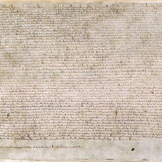 Копия хартии из Британской библиотеки