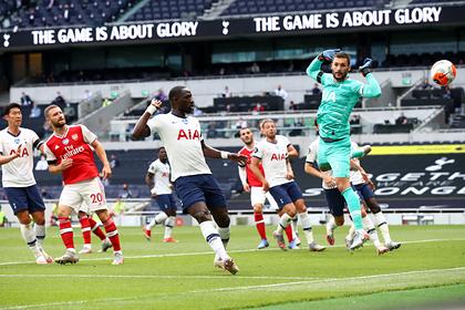 «Тоттенхэм» вырвал победу у «Арсенала» в лондонском дерби