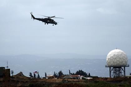 Российские ПВО отразили атаку дронов на сирийскую базу Хмеймим