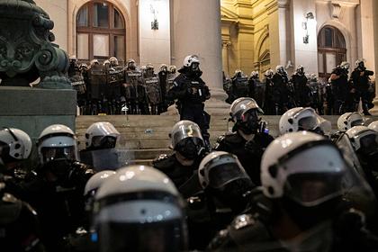 В Сербии рассказали ороли России вантиправительственных демонстрациях