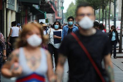 Мексика вышла на четвертое место по числу смертей от коронавируса