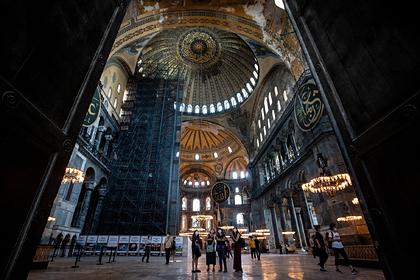 Россия прокомментировала превращение собора Святой Софии в мечеть