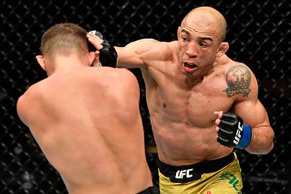 Алду объяснил поражение от Петра Яна на турнире UFC