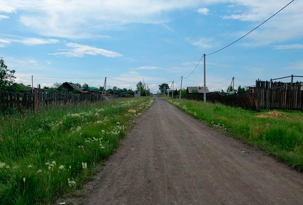 Одно из мест преступлений: до наводнения здесь была застроенная улица, по которой Тулунский маньяк ходил на работу и иногда по пути насиловал женщин