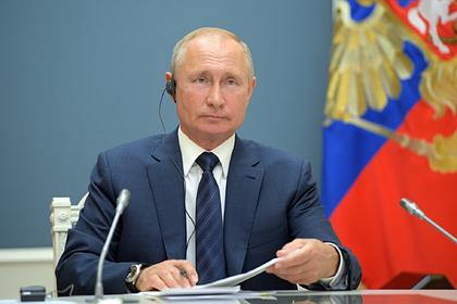 Путин заявил об историческом шансе решить жилищный вопрос в России