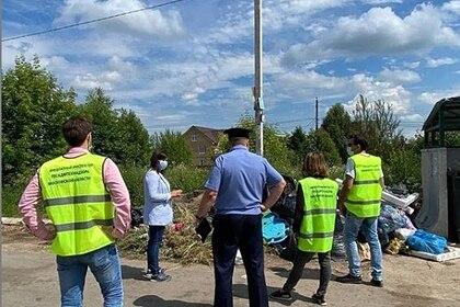 Воробьев инициировал в Подмосковье мусорные рейды