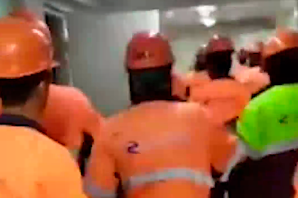 Строители завода «Газпрома» подняли бунт