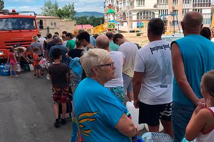 Водонаева пожаловалась на мэра российского курорта из-за отсутствия воды