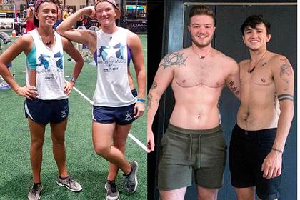 Подруги показали фото до и после «превращения» в мужчин