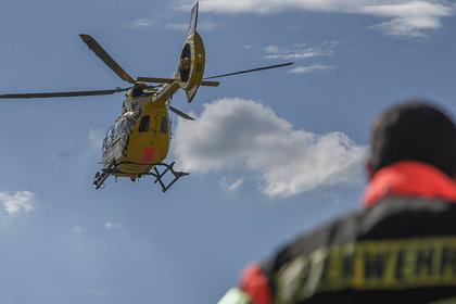 В Германии на поиски вооруженного арбалетом мужчины подняли вертолеты