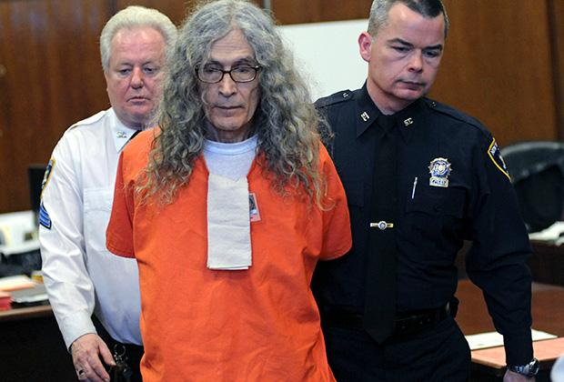 Родни Алькала в зале суда