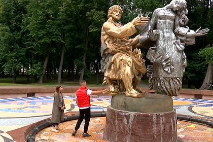 Россиян восстановил фонтан и получил уголовное дело