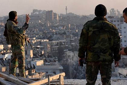 Сирийская армия ударила по атаковавшим российскую базу Хмеймим террористам
