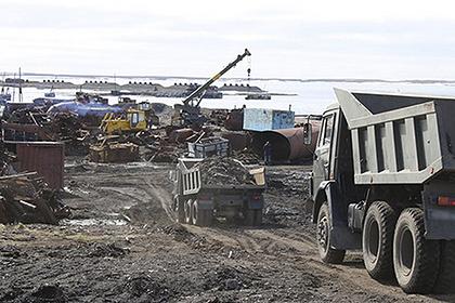Военные экологи собрали на Ямале 200 тонн металлолома