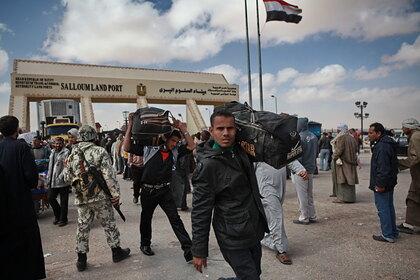Ливия разрешила армии Египта вмешаться в конфликт на территории страны