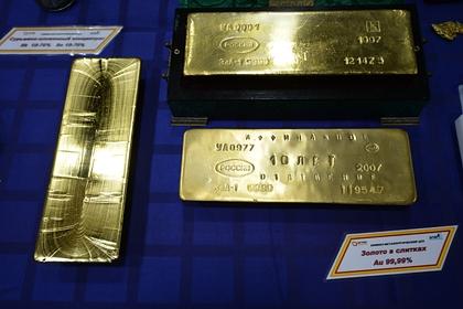 Золото стало для России доходнее «Газпрома»