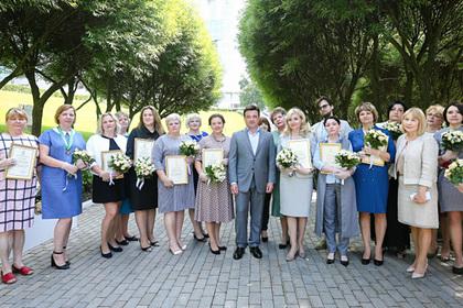 Воробьев наградил лучших соцработников Подмосковья