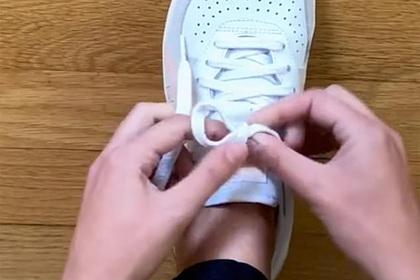 Правильный способ завязывать шнурки вызвал споры в сети