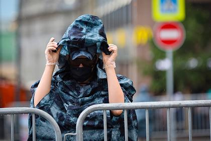 Российские полицейские задержали отрицающих распад СССР экстремистов