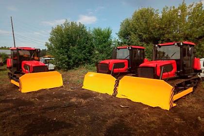 Алтайский край закупил лесопожарную технику на 44 миллиона рублей