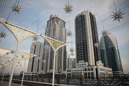 В Чечне запретили въезд туристам