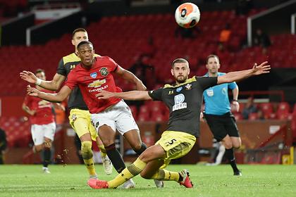 Гол форварда «Манчестер Юнайтед» признан лучшим в туре АПЛ