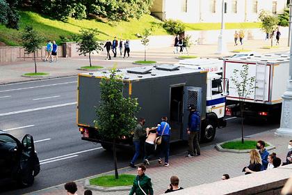Названо число задержанных на акциях протеста в Белоруссии