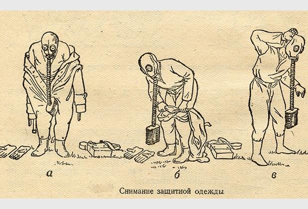 Изображение из учебного пособия по самозащите. СССР, 1951 год