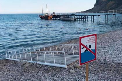 В Крыму заинтересовались залитыми нечистотами пляжами курорта